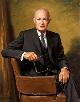 President Dwight D. Eisenhower Official Presidential Portrait