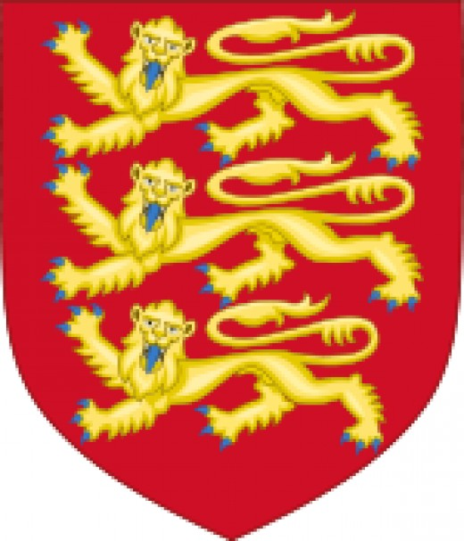 Royal Coat of Arms of England (1198 - 1340)