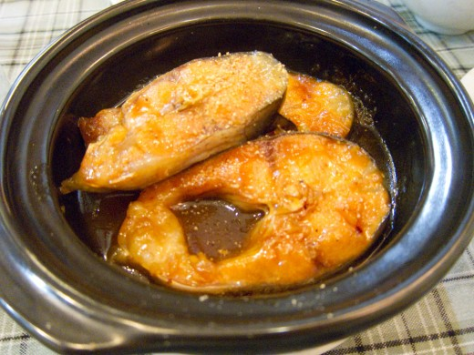 Ca Kho To - Vietnamese Braised Fish in Caramel Sauce