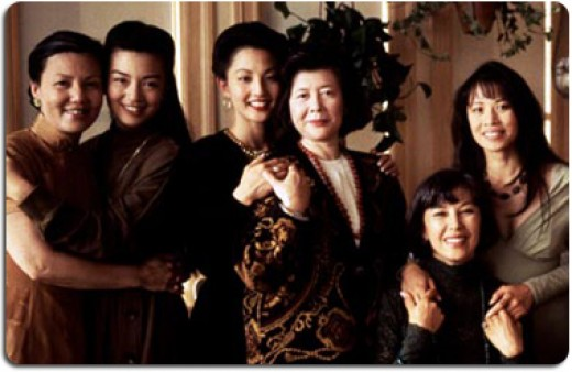 "The cast of ""The Joy Luck Club"""