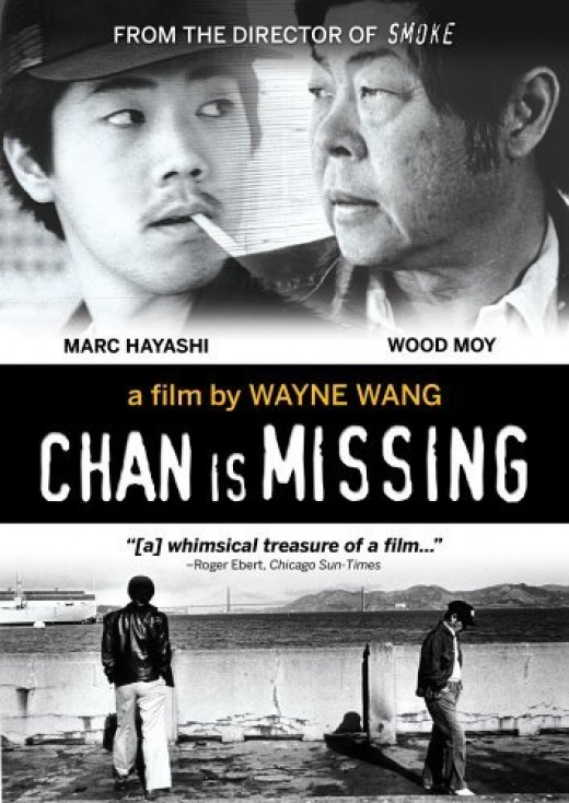 "The movie poster of ""Chan is Missing"""