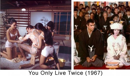 "Scenes from ""You Only Live Twice"" with Sean Connery"