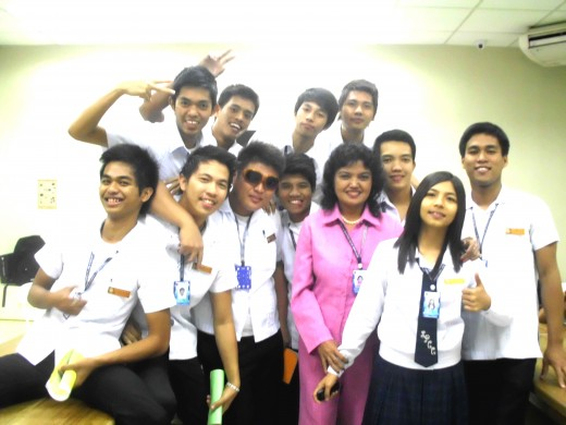 Taken inside the laboratory of SPCC, San Fernando, Computer Engineering Class, First year, 2011