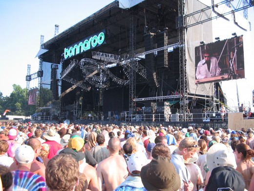 Bob Dylan at Bonnaroo 2004