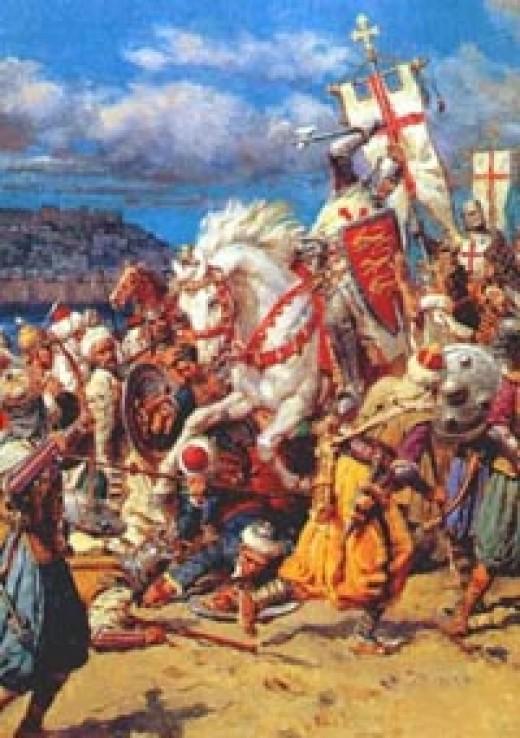 Richard The Lionheart  At The Third Crusades