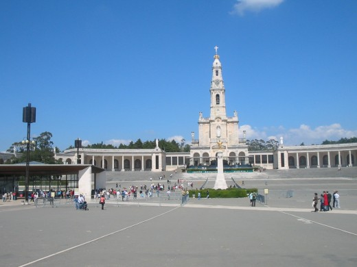 The sanctuary of Fatima