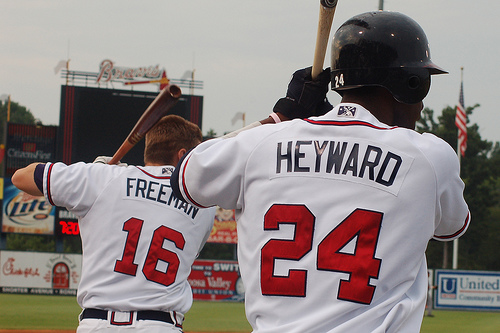 The future of the Braves lineup would be in good hands should Freeman and Heyward capitalize on their immense potential.