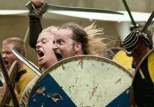 Modern Dublin Vikings - celebrating Viking Week