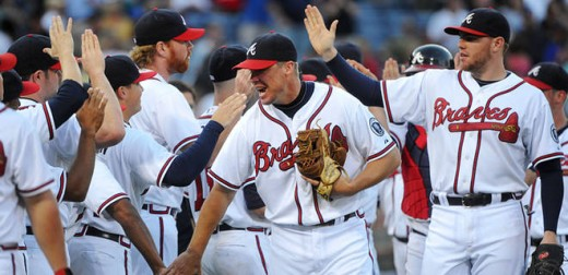 Look for the Braves to be celebrating a division title at the end of the 2012 season.