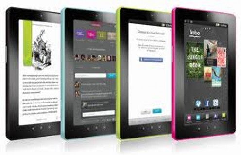 The Kobo Vox was released in October 2011 and comes in a variety of colors.