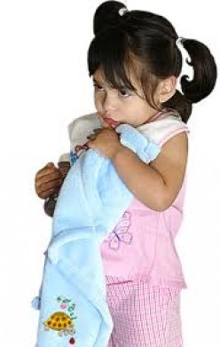 "When To Say ""Bye"" to Your Child's Security Blanket"