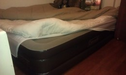 Another pic of my airbed
