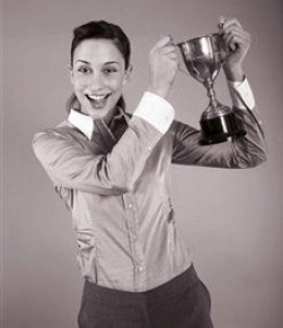 Reiner-Waters took the winner's trophy in this year's competition