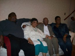 Walker and Suzie, were featured here with their son Bobblie and his wife Marie.