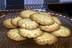 Traditional English Fork Biscuits - a very easy and delicious cookie recipe