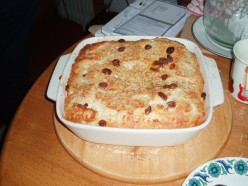 How to Use up your leftover bread easy recipes, Bread and Butter Pudding and a Tuscan La Panzanella