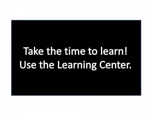 Use the Learning Center on HubPages to help reach your full potential!