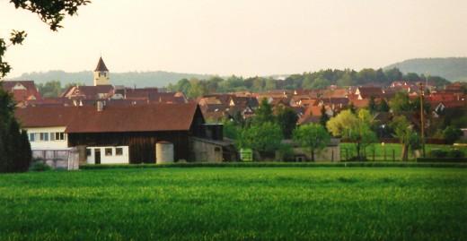 Herrenberg - Gültstein area of Germany