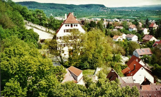 Views of Herrenberg from the church tower