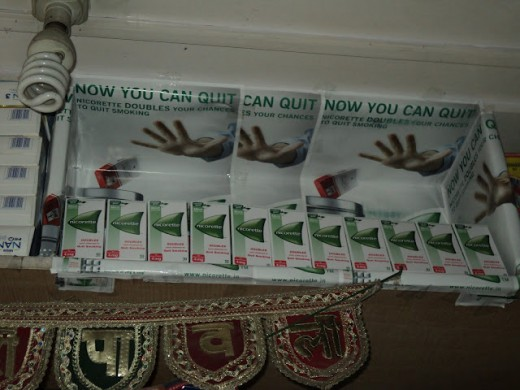 Nicorette packs are easily available in Delhi . You can also quit this bad habit. (March Challenge - Hub #2/30)