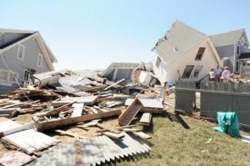 Weather Radios Save Lives - Tornado damage picture