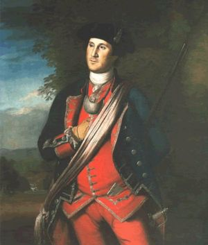 The earliest known portrait of Washington