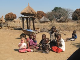 This village has next to nothing, yet these people are happy, grateful and just plain nice.
