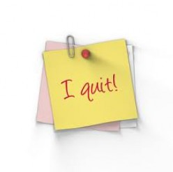 What are the benefits of being a quitter?