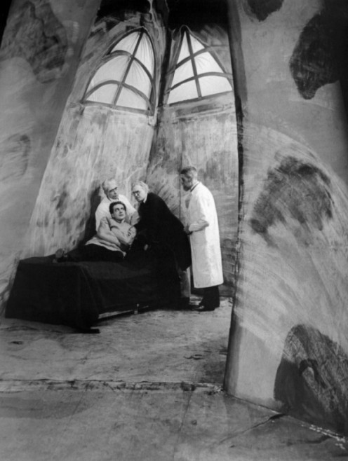 The cabinet of Dr. Caligari from the German Expressionist movement