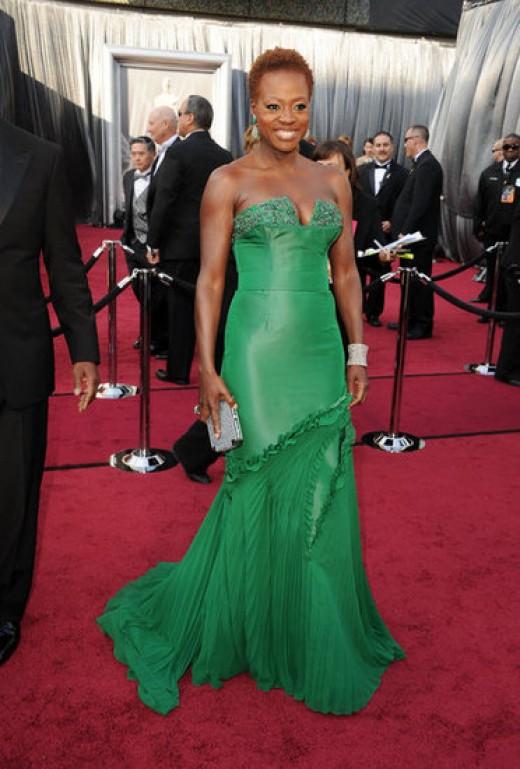 Viola Davis at the Academy Awards