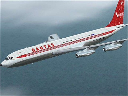 Once the B707 came into large scale operation the world of aviaiton changed drastically.   Many more people began to fly rather than go by ship.