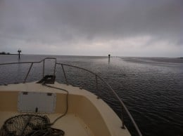 the Gulf of Mexico ahead of us