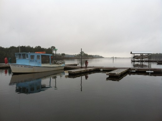 early morning in Steinhatchee