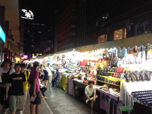 Patpong night market in full swing.