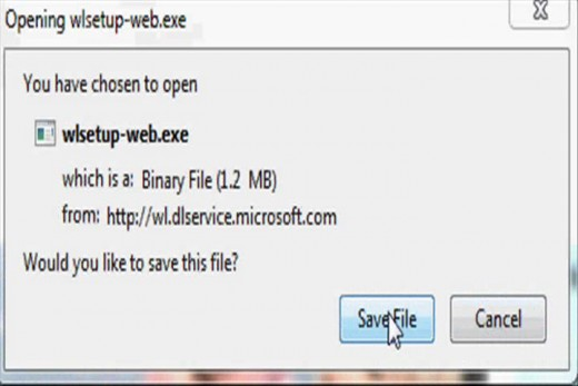 The file you download won't actually be uniquely a Windows Live Movie Maker installation file, it will be a Windows Live Essentials 2011 installer.