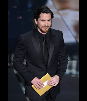Christian Bale at the 84th Annual Academy Awards show