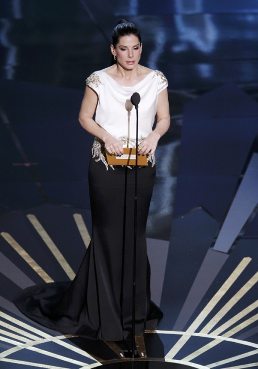 Sandra Bullock presenting at the 84th Annual Academy Awards