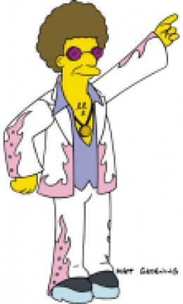 """Disco Stu only likes disco music."""