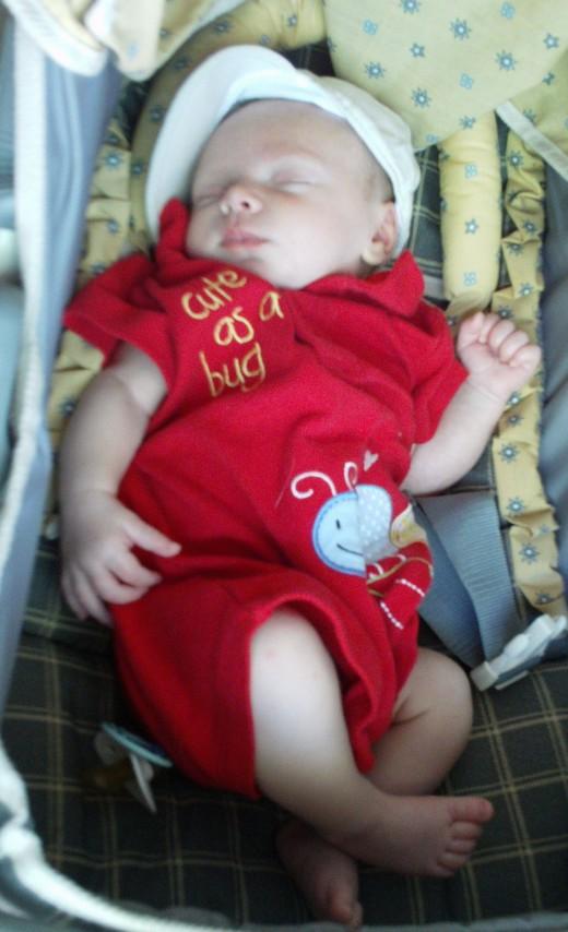 Damian at 6 weeks