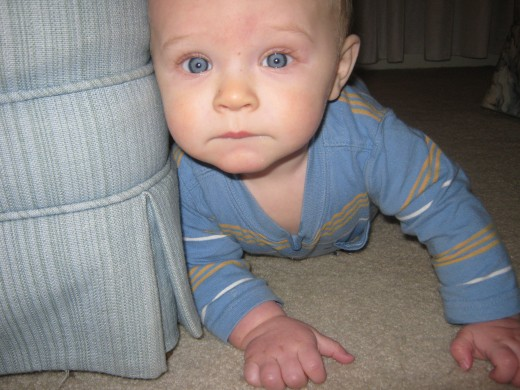 Damian at 7 months