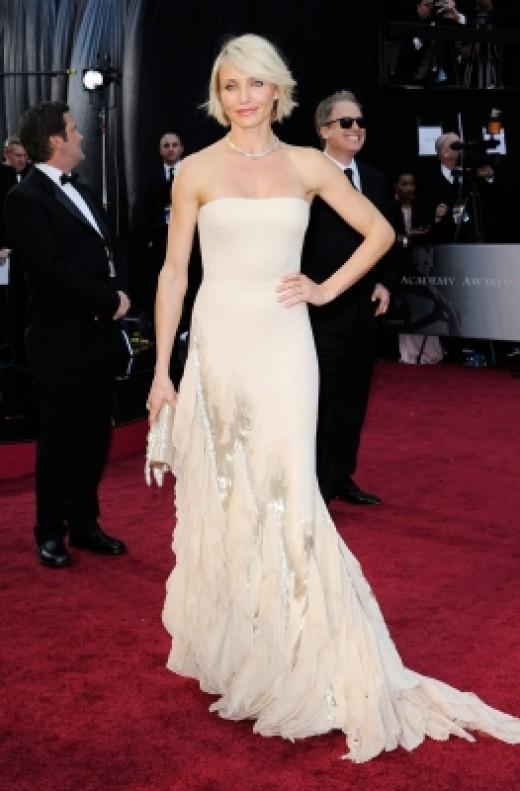 Cameron Diaz at the 84th Annual Academy Awards