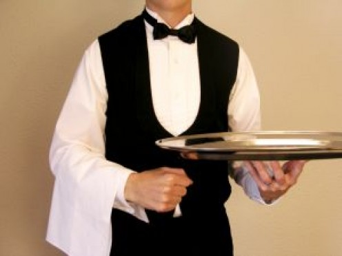 Waiters and waitress can fall over toddlers in the aisles and the children can be burned by hot foods.