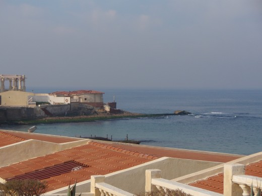 The Mediterannean Sea at Alexandria