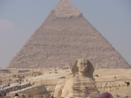 Pyramids & The Sphinx