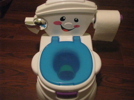 The Fisher Price Cheer for Me! Potty Seat
