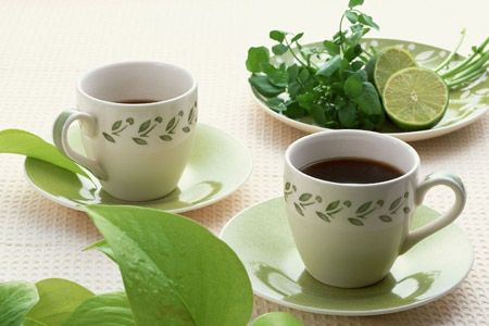 Green tea in beauty industry