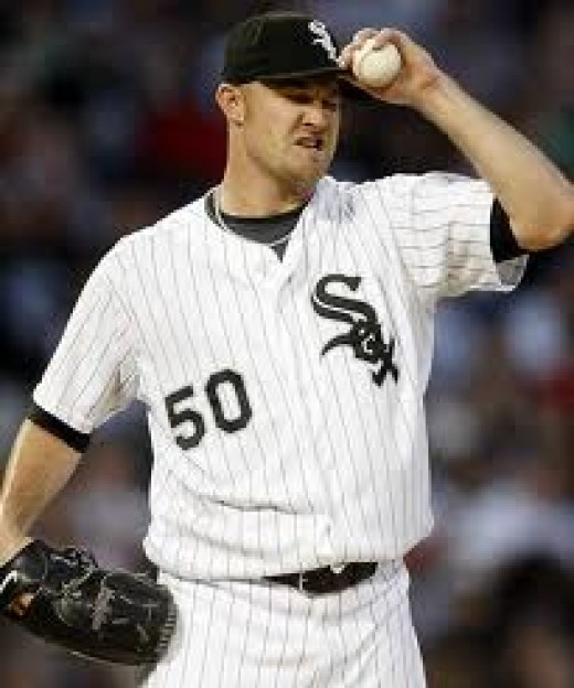 John Danks heads the White Sox rotation heading into the 2012 season.