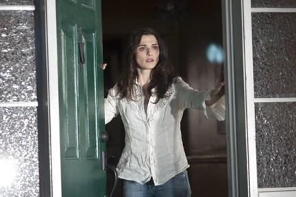 """Weisz looks on in horror in """"Dream House."""""""