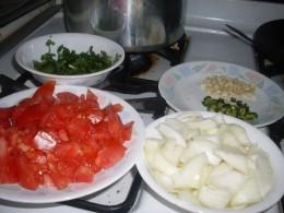 Onion, cilantro
