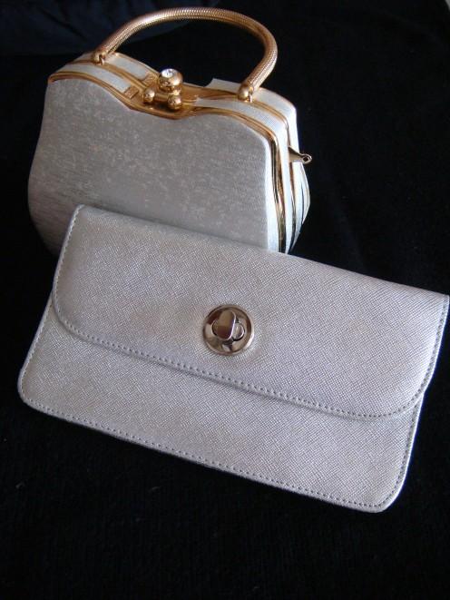 Silver handbags